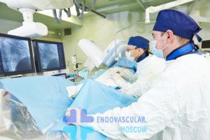 Выполнения стентирования коронарных артерий